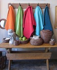 Colorful Utility Canvas throws