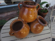 1920s French terracotta