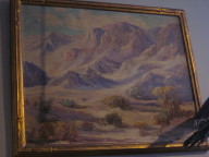 Vintage painting by artist Harry Smith
