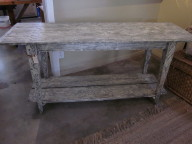Console table made in USA