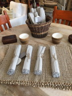 Coyuchi table linens
