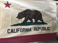 Vintage California Republic Flag