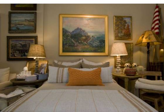 Luxury linens at Camps and Cottages in Laguna Beach
